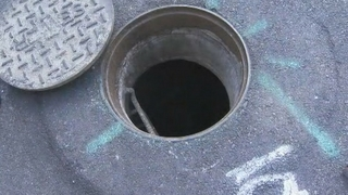 Meter readers find evidence of kids living in sewer
