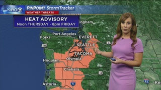 Pinpoint Video Forecast for Friday Evening