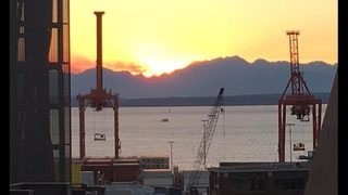 Stunning Northwest sunset expected Friday night