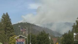 Calm weather aids crews fighting wildfire near Leavenworth
