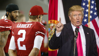 Trump on Colin Kaepernick: He should find another country