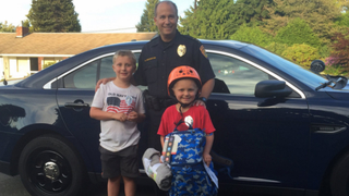 Everett police replace young boy