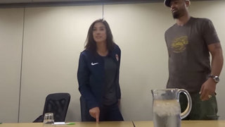 Video shows Hope Solo angry reaction to being cut from U.S. Soccer