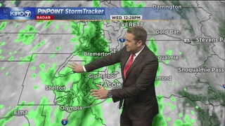 KIRO 7 PinPoint Weather video for Wednesday afternoon