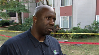Maintenance worker helps save people in West Seattle fire