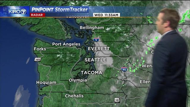 Kiro 7 pinpoint weather video for wed afternoon kiro tv