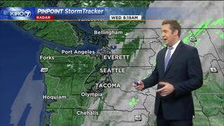 KIRO 7 PinPoint Weather video for Wed. morning