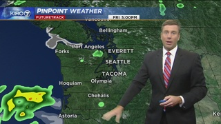 KIRO 7 Pinpoint Weather forecast for Friday morning