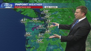 KIRO 7 Pinpoint Weather video for Saturday morning
