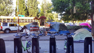Where should people be allowed to camp in Seattle?