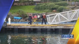 Floatplane crashes in San Juan Islands
