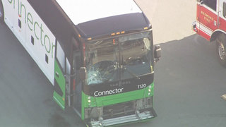 Motorcyclist killed in Microsoft bus crash