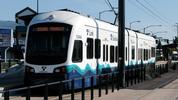 A Sound Transit Link light rail train. (Oran Viriyincy/Wikimedia Commons)