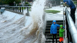 The storm moves in at Silverdale Waterfront Park in Silverdale, Wash., on Saturday, Oct. 15, 2016.(Meegan M. Reid/Kitsap Sun via AP)