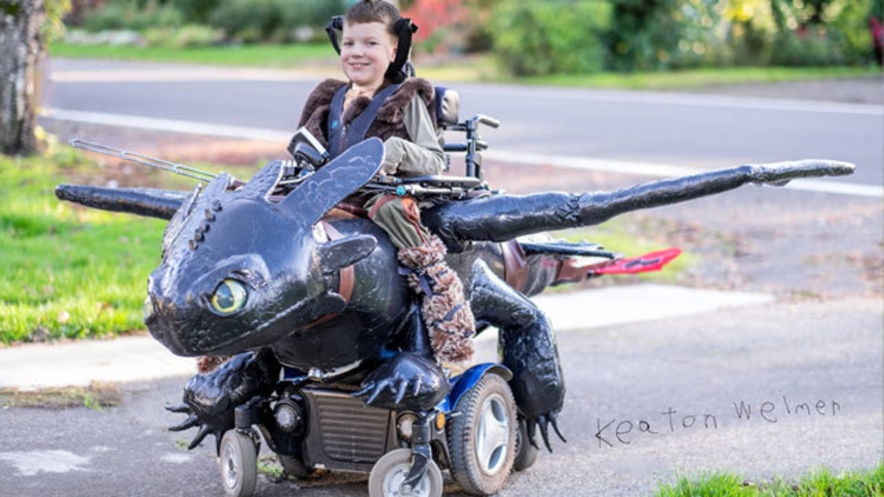 Northwest family inspires unforgettable Halloween costumes for kids