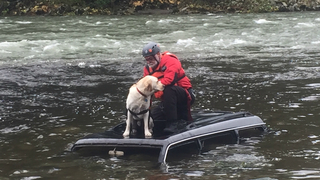Flood rescue training on the Snoqualmie River