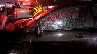 Major delays on I-5 as heavy rain hits Puget Sound