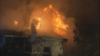 Fire rips through Montlake home