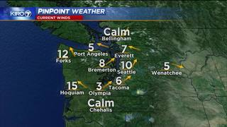 KIRO 7 PinPoint Weather for Mon. afternoon