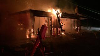 Fire destroys home under construction on Bainbridge Island