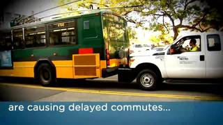 Problems with new electric buses cause delayed commutes, safety problems