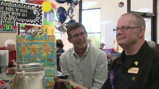 McDonald employee with Down syndrome celebrates 30 years on the job