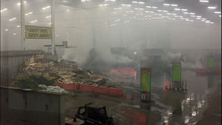 Garbage fire closes South Seattle transfer station