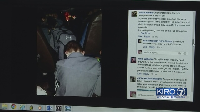 Lake Stevens Students Complain Of School Bus Overcrowding Riding In