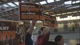 VIDEO: Post election rally