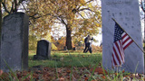 VIDEO: Historic cemetery visited by veterans