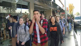 VIDEO: Students around Sound to walk out of classes