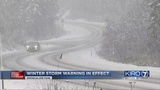 WEATHER VIDEO: Snow in the passes, and what to expect Friday