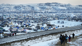 Army Corps blocks route of Dakota Access oil pipeline