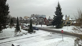Photo of snow in Everett Friday morning. From Twitter user Seth Shotwell.