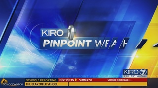 KIRO 7 PinPoint Weather forecast for Fri. morning