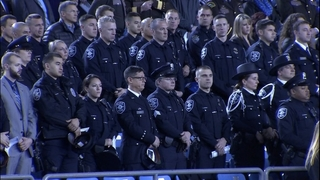 """PHOTOS: Procession, memorial for Tacoma Officer """"Jake"""" Gutierrez"""