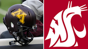 Minnesota plays Washington State December 27 in the Holiday Bowl. (AP photo)