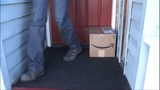 A Tacoma man was tired of having packages stolen from the front porch of his Tacoma home, so he rigged his own box with a very loud surprise inside.