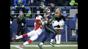 The Seattle Seahawks faced the Arizona Cardinals at home on Christmas Eve. (AP photo)