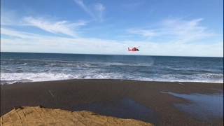 Oregon father, toddler missing after being swept into ocean