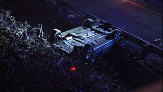 1 arrested after rollover crash in SeaTac