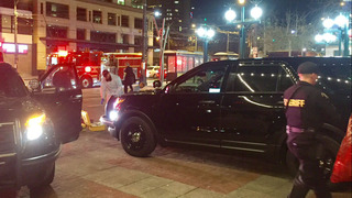 Police search for suspect after stabbing in Seattle
