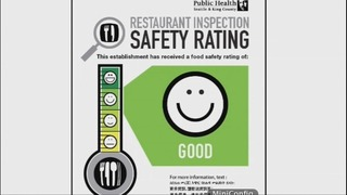 King County rolls out first phase of food safety ratings program