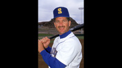 1991: Edgar Martinez #11 of the Seattle Mariners poses for a portrait in 1991. (Photo by Otto Greule Jr/Getty Images)
