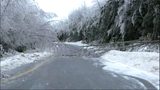 Trees down on I-90 near Snoqualmie Pass