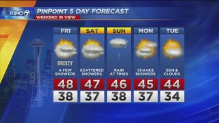 KIIRO 7 PinPoint Weather Video for Thurs. evening