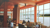 Depiction of passenger terminal at Paine Field