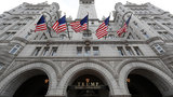 FILE - In this Dec. 21, 2106 file photo, the Trump International Hotel in Washington. (AP Photo/Alex Brandon, File) Summary