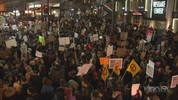 Thousands of people in Seattle protested President Donald Trump's executive order regarding immigration. Protests occurred Saturday and Sunday in several U.S. cities.