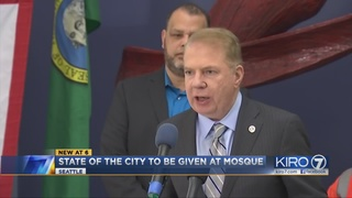 Seattle mayor to give State of City address at mosque, slams Trump…